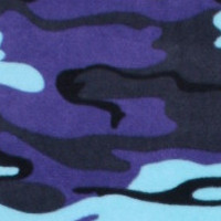 Photo of Alien camouflage fleece fabric