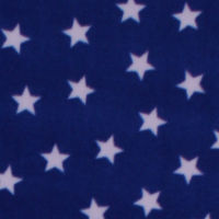 Photo of Blue Stars fleece fabric