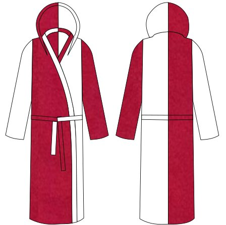 Custom Fleece Dressing Gowns