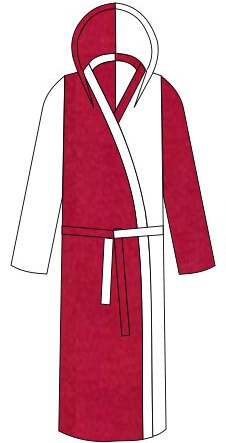 Custom Fleece Dressing Gown