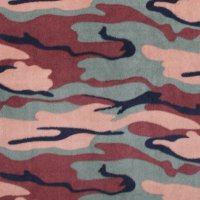 Photo of Dark Camouflage fleece fabric