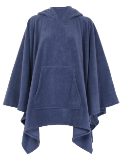 Womens Fleece Poncho