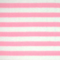 Photo of Pink Stripe fleece fabric