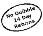 No Quibble 14 Day Returns
